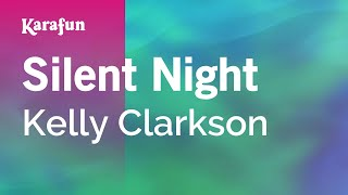 Karaoke Silent Night - Kelly Clarkson *