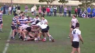 Championship winning try: Newington v Riverview 2015 GPS r10