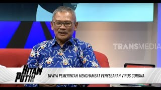 Kenapa Indonesia Tidak Lockdown, Ini Kata Dr.achmad Yurianto | Hitam Putih  18/03/20  Part 2