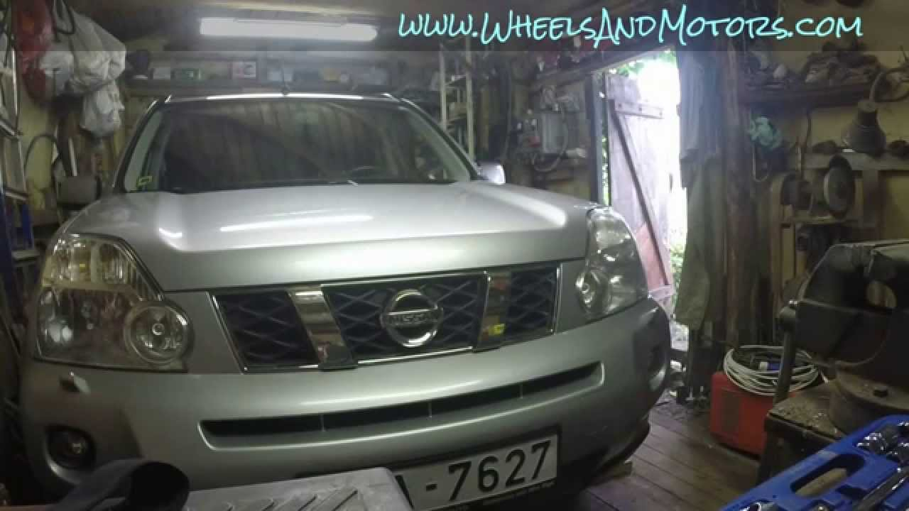 How To Replace Engine Air Filter For Nissan X Trail T31 Youtube Navara Fuel Filters
