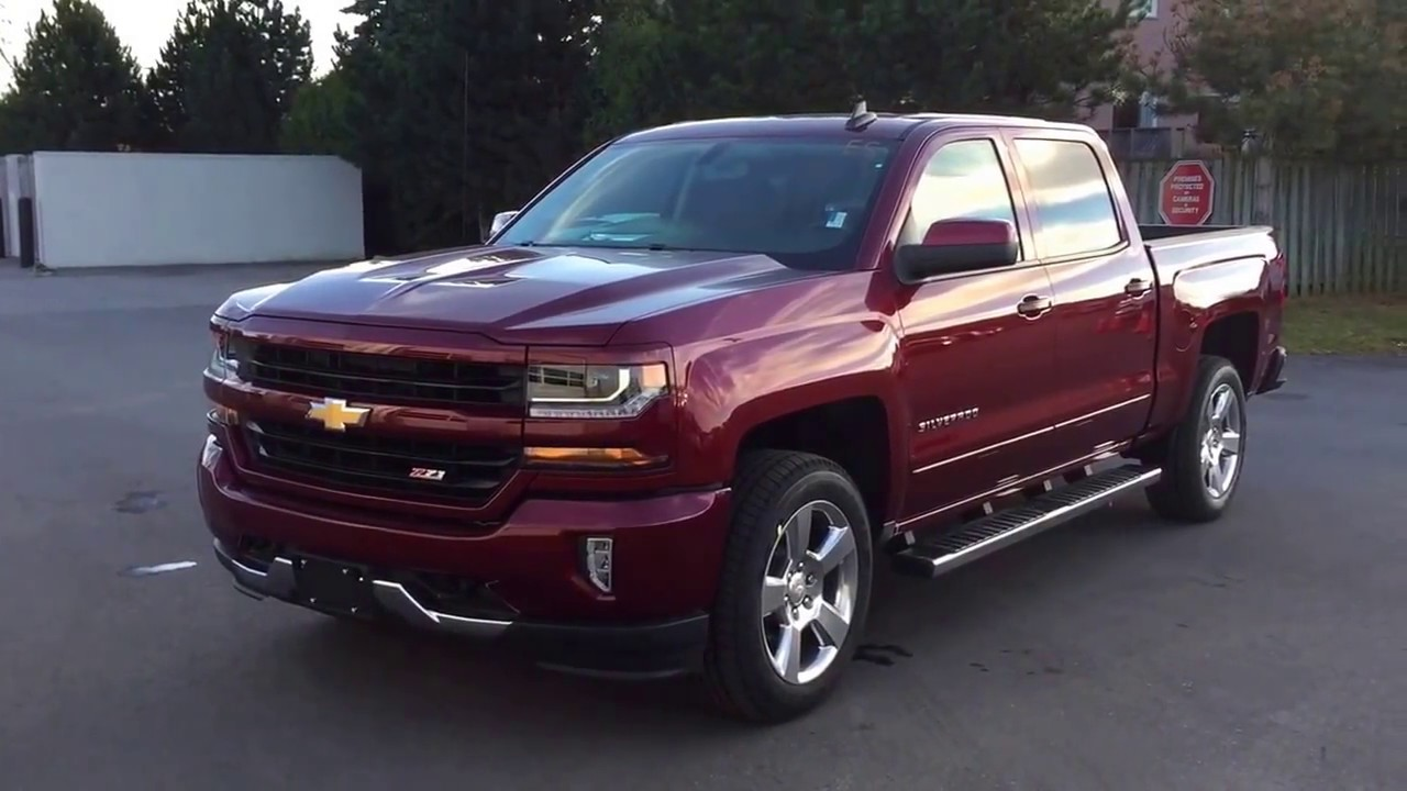 2017 Chevy Silverado 1500 Lt Z71 4wd Crew Cab Siren Red Tintcoat Roy Nichols Motors Courtice On You
