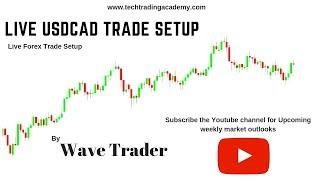 Live Forex Trading  USDCAD Trade Setup