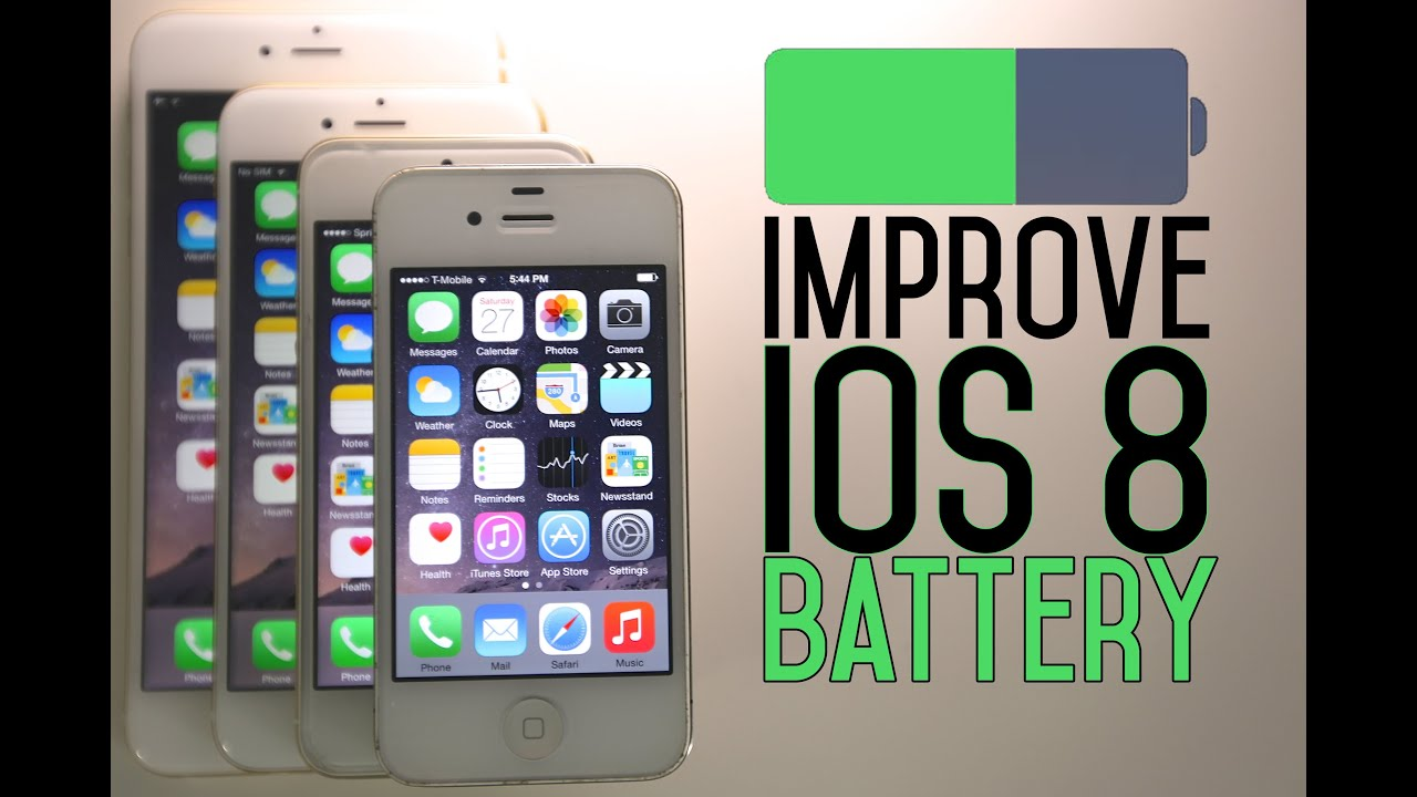How To Improve iOS 8 Battery Life