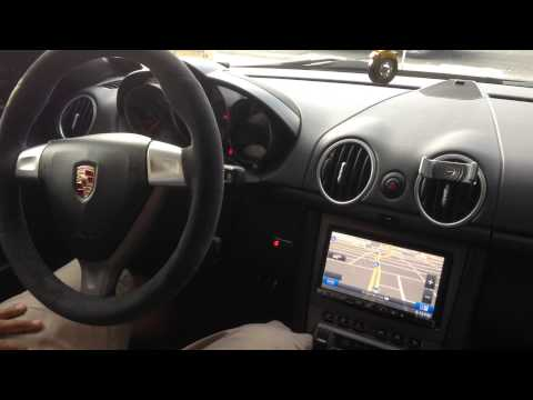 2007 Porsche Cayman upgraded the GPS and Sound System and installed a Passport 9500Ci