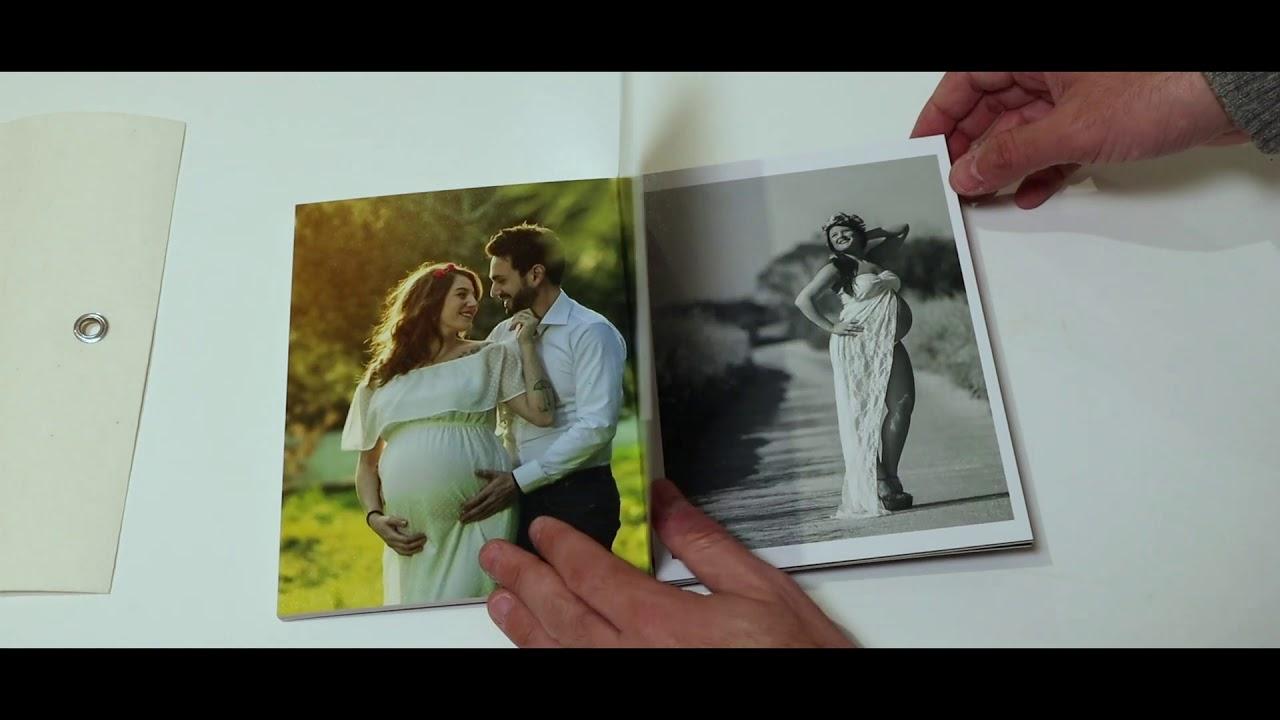 Photobook Maternity 15X20 + Pochette ecopelle