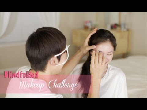 Blindfolded Makeup Challenge With Hubby
