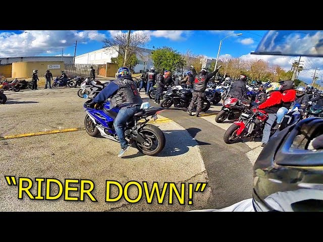 300+ RIDERS TAKING OVER THE STREETS