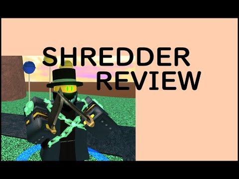 SHREDDER TOWER REVIEW! |  Feat. Lepsuz