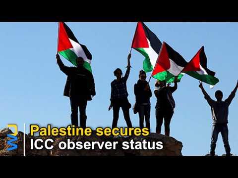 Palestine secures ICC observer status