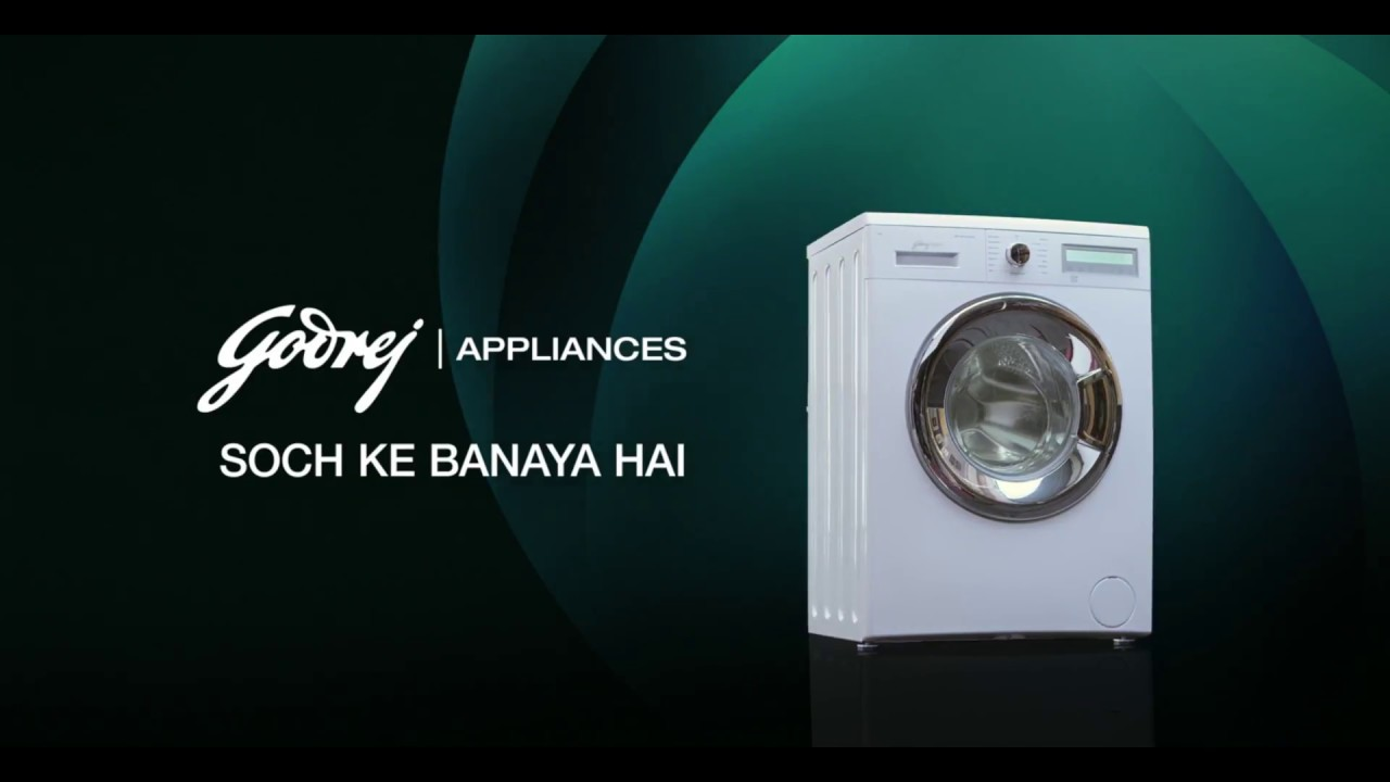 Godrej Eon Front Load Washing Machine With Allergy Protect Tvc