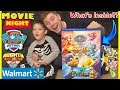 Paw Patrol Mighty Pups Family Movie Night and Toys Unboxing!