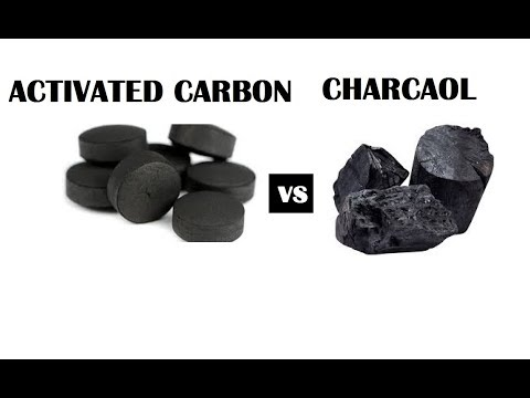 Activated Carbon And Charcoal In Aquarium