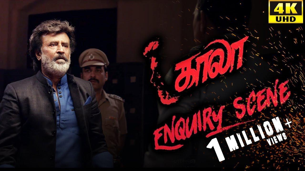 Download Kaala (Tamil) - Enquiry Scene   Rajinikanth   Nana Patekar   Huma Qureshi   4K [with Subs]