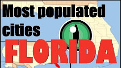 The Most Populated Cities Of Florida/Metropolitan Areas