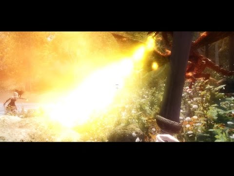 The Elder Scrolls IV Oblivion 2015 - vs Fire Dragon |