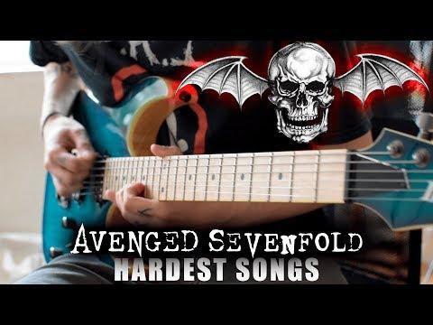 Avenged Sevenfold HARDEST Songs On Rhythm Guitar