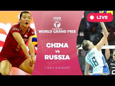 China v Russia - Group 1: 2017 FIVB Volleyball World Grand Prix