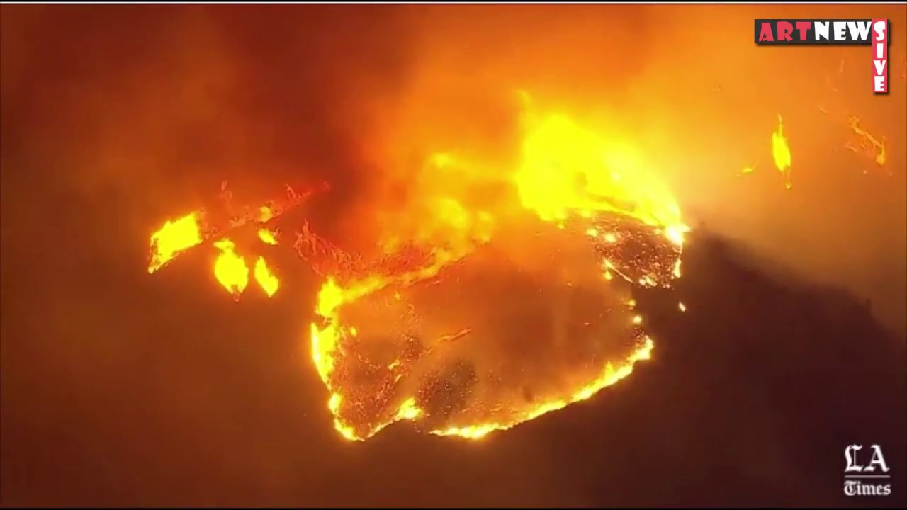 Fast Moving Creek Fire Threatens Homes In California Sylmar Fire