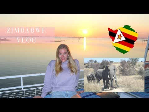 ZIMBABWE TRAVEL VLOG | GAME DRIVE | HOUSEBOAT ON LAKE KARIBA | HARARE | NYANGA