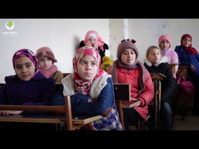 Orphan School In Syria