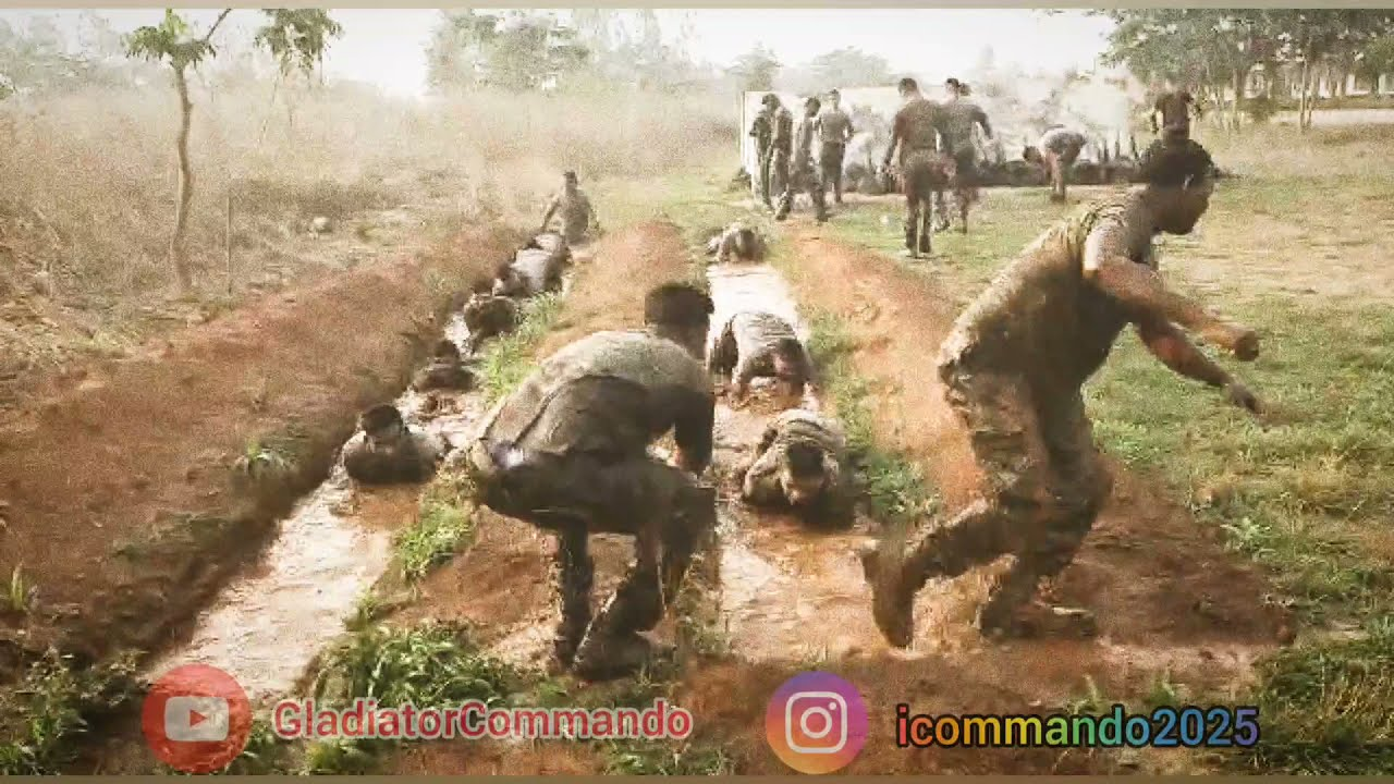 CoBRA Commando || Mud Crawl Masti