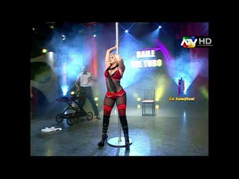 Shirley Cherres bailando en el gran chongo