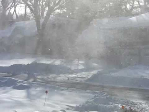 Driven By Winter Wind >> Winter In Upstate Ny Wind Driven Snow Youtube