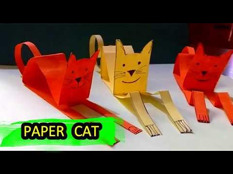 Paper cat  DIY | Origami | Paper cat craft