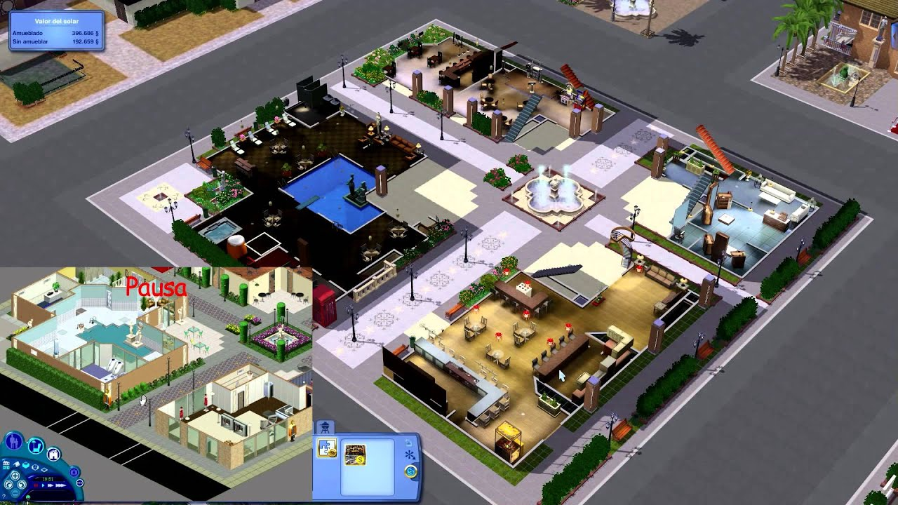 maxis island the sims 1 in the sims 3 youtube. Black Bedroom Furniture Sets. Home Design Ideas