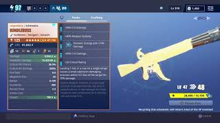 How much exp and eveloution materials does it take to get a 130| Fortnite save the world