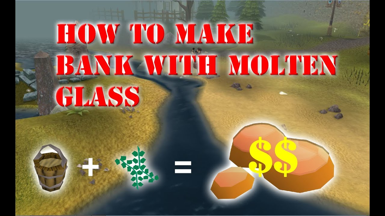 how to make molten glass osrs