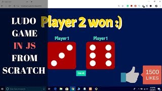 JavaScript Game in Hindi | Create a Ludo Game In JavaScript HTML and CSS in Hindi 2019