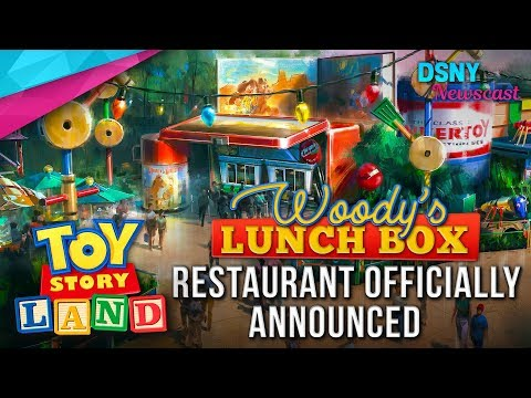 Restaurant Officially Announced for TOY STORY LAND at Walt Disney World - Disney News - 10/24/17