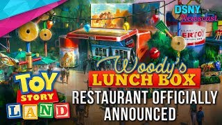 TOY STORY LAND Restaurant Announced for Disney's Hollywood Studios  - Disney News - 10/24/17