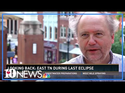 Looking back: East Tenn. during last eclipse