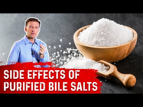 Side Effects of Taking Purified Bile Salts - YouTube