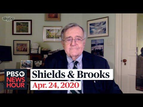 Shields And Brooks On Trump's Briefings, Coronavirus Aid