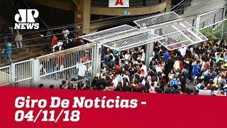 Giro De Notícias - 04/11/18