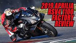 2019 Aprilia RSV4 1100 Factory Video Review