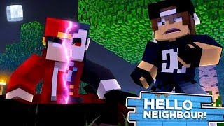 Minecraft Hello Neighbour - ROPO BECOMES A VAMPIRE!!!