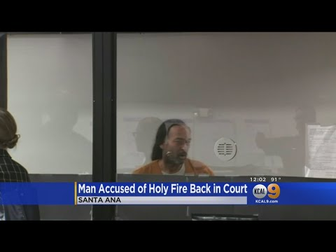 Holy Fire Arson Suspect Forrest Clark Ordered To Undergo Psychiatric Evaluation