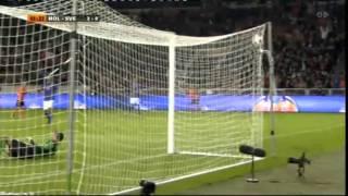 Holland vs Sverige Em-kval 4-1