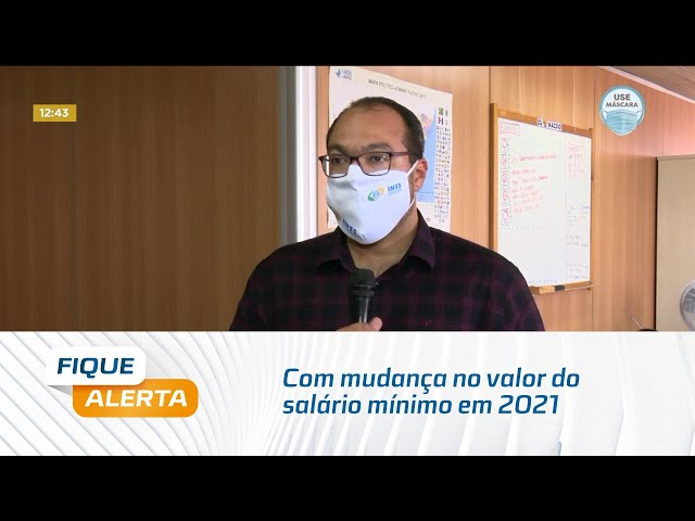 Com mudança no valor do salário mínimo em 2021, mudam também as faixas de contribuição para o INSS