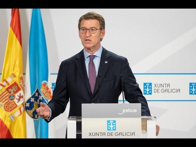 EN DIRECTO | O presidente da Xunta informa das medidas acordadas polo comité clínico