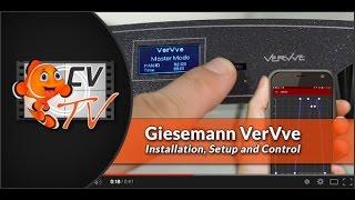 Giesemann VerVve: Setup & Installation