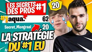 💡The Secret Strategy of the #1 EU - Aqua, Best Than Mongraal?! The Secrets of the Pros #1 Fortnite