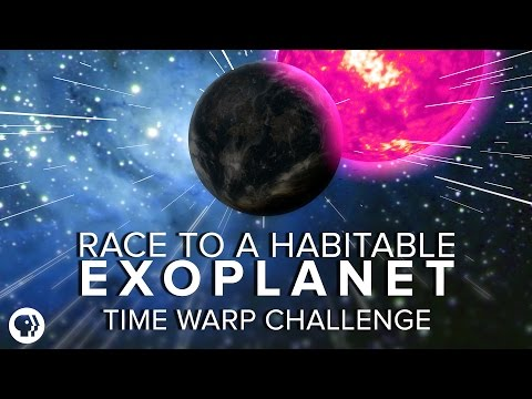 The Race to a Habitable Exoplanet - Time Warp Challenge | Space Time