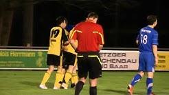 FC Baar - FC Sempach: Joonas Jokinen (35) shoots penalty
