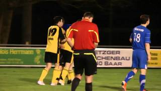 FC Baar - FC Sempach: Joonas Jokinen (35) shoots penalty thumbnail