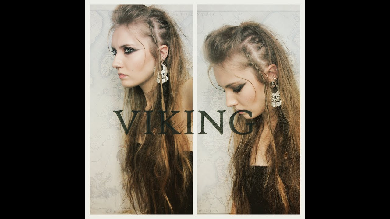 VIKING INSPIRED HAIR MAKEUP